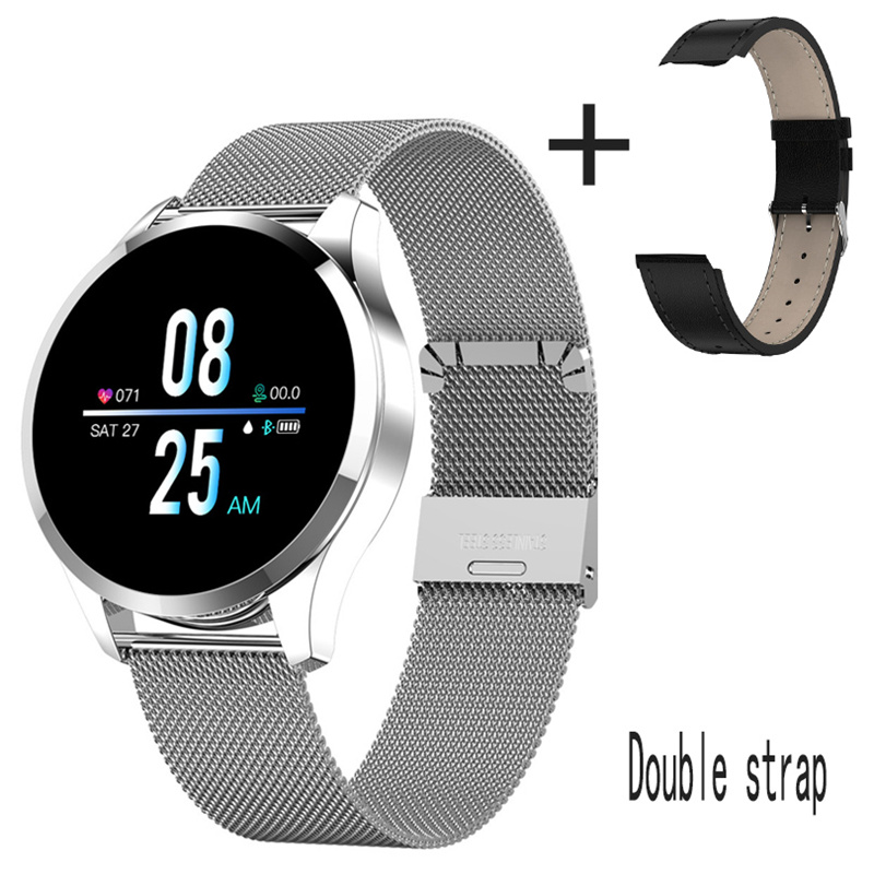 Q9 Smart Watch Men Women Waterproof Fashion Bracelet Fitness Tracker Heart Rate bluetooth Sport Smartwatch for IOS Android phone