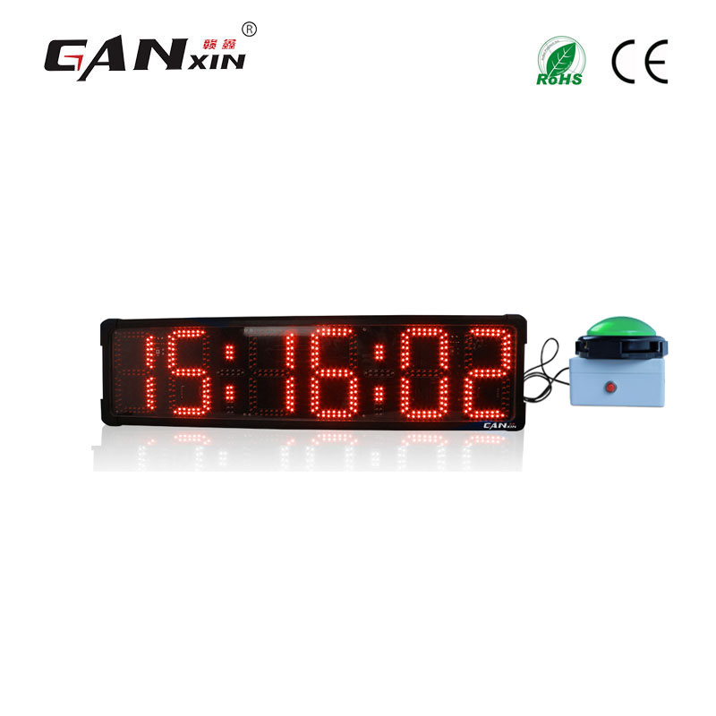 Outdoor mini digital  light led clock