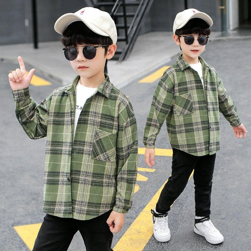 Boys High-Quality Cotton Shirts