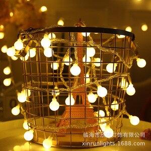 2 м/3 м/6 м светодиодный светильник Феи s Рождественский светодиодный светильник Глобус гирлянда светодиодный светильник Феи для украшения рождества для дома|Светодиодная лента|   | АлиЭкспресс