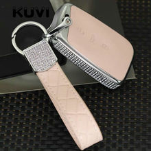 For Volkswagen VW Tiguan MK2 Magotan Passat B8 CC 2017 2018 Skoda Superb A7 Key Cover Case Fob Pocket Shell Skin Keychain