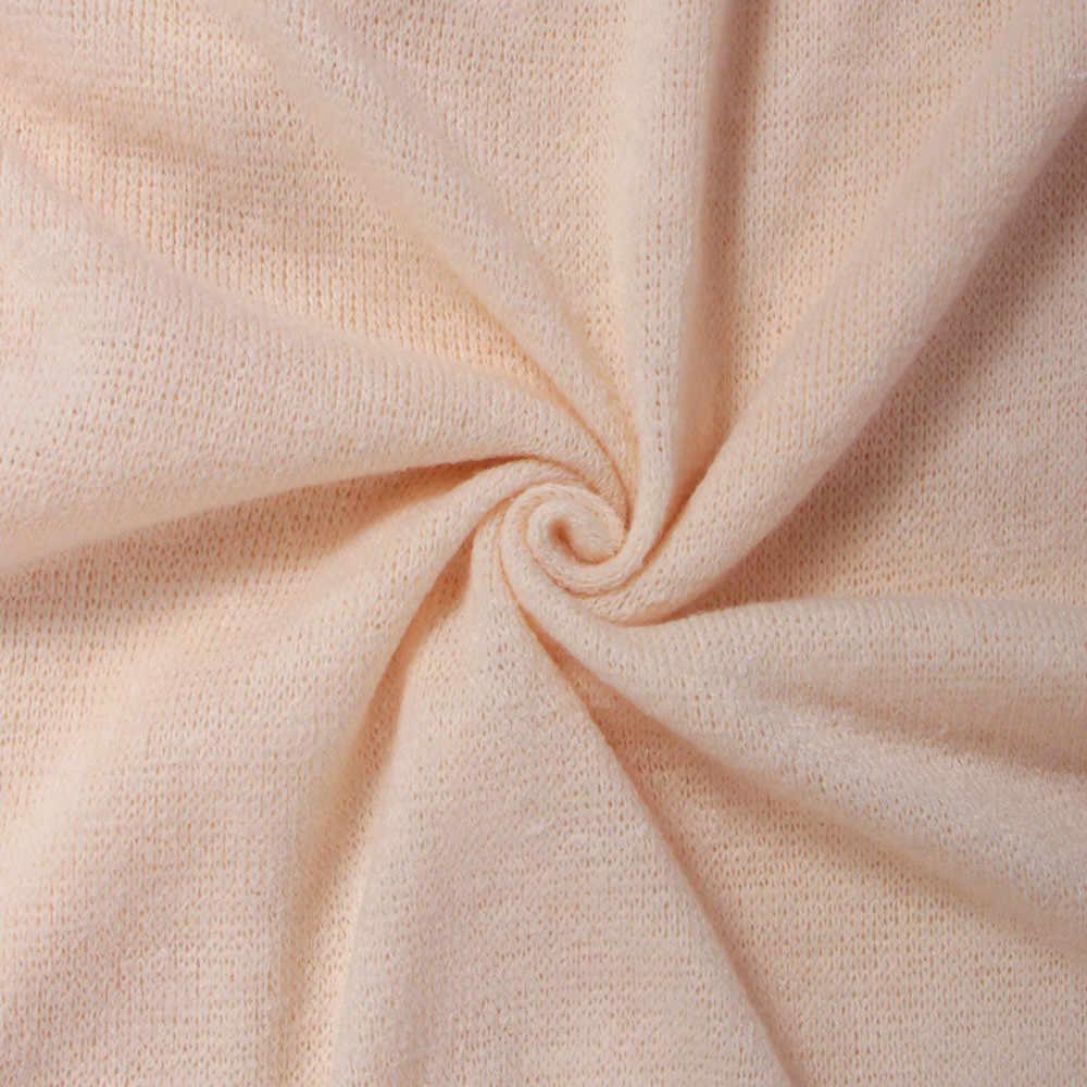 Femmes pull chandail nouveau à manches longues col en V couleur unie Sexy automne et hiver mode décontracté quotidien chaud lâche pull # S