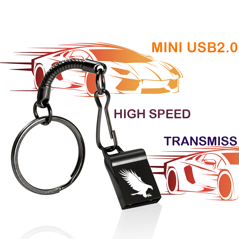 Usb Flash Drive 32gb Usb2.0 Pendrive 16gb 8gb 4gb Stick Drive 128gb With Newest Disc Pendrive