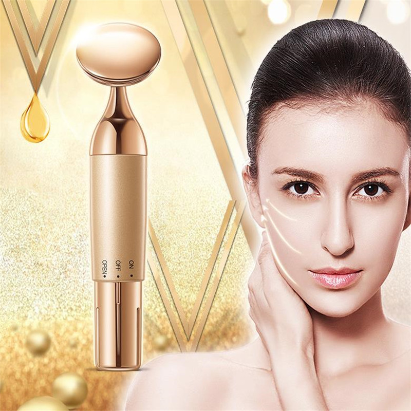 Electric Eye Massage Roller Stick High Frequency Vibration Facial Massager Nutrition Import Anti Wrinkle Dropshipping 20#4