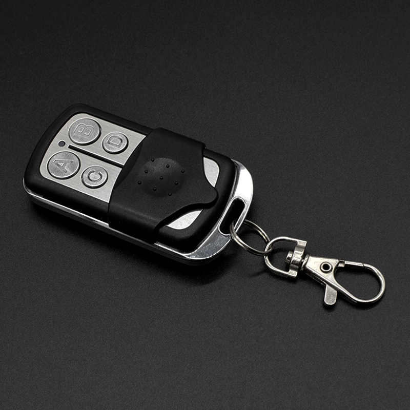 Gate remote control 433.92mhz rolling code garage door remote Opener universal 433 keychain for a barrier