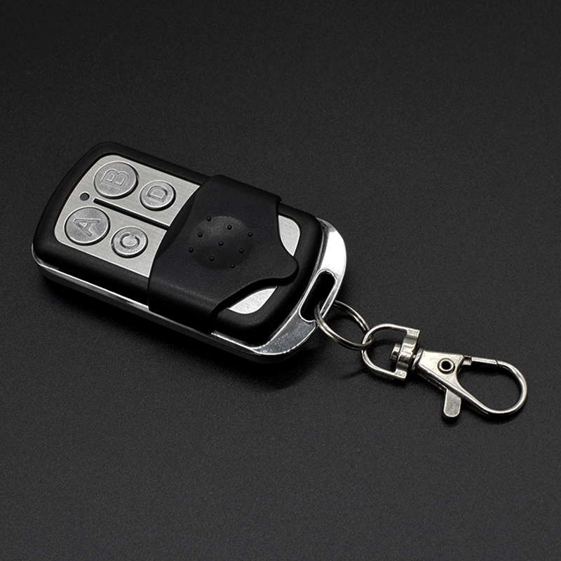 Garage Door Clone Remote Control 433.92MHz Rolling Code Clone Remote Control 4 Button Opener Universal 433