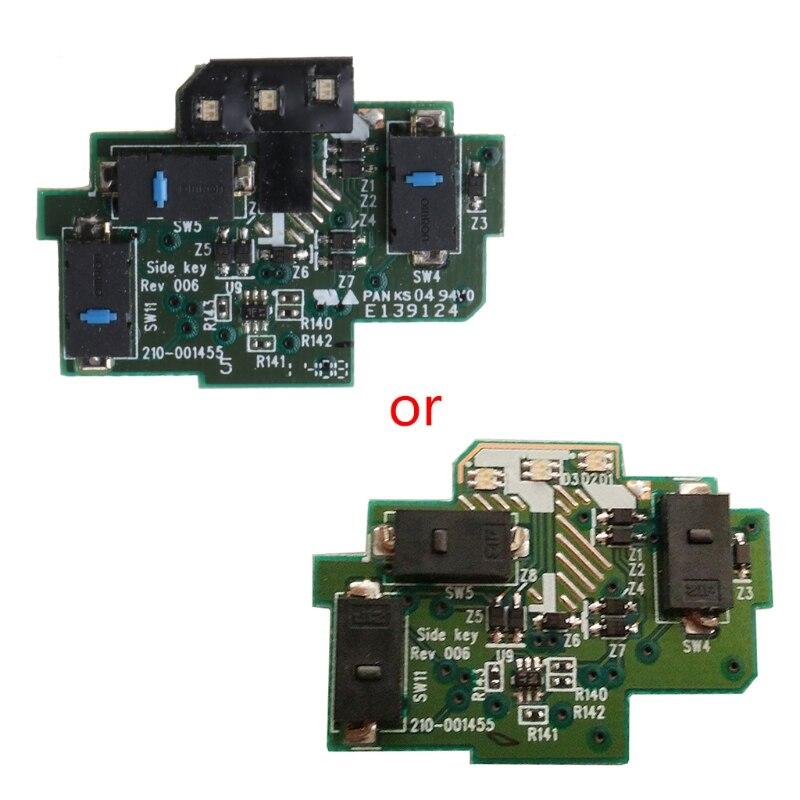 mouse botões laterais placa de circuito