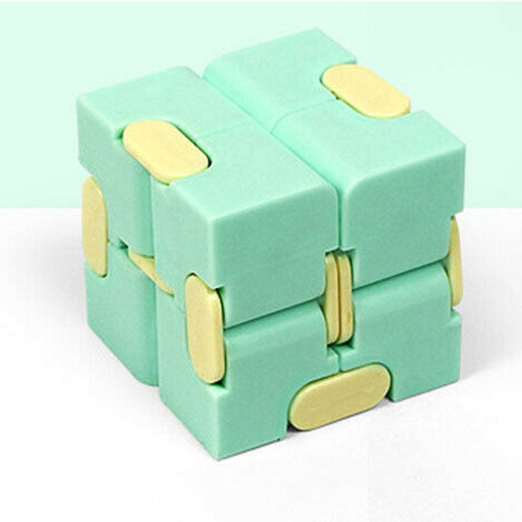 Decompression Toy Maze Magic Cube Hand-Game Square Relieve-Stress Funny Four-Corner Infinity img5