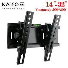 Универсальный 25 кг регулируемый наклон ТВ настенное крепление