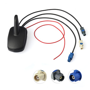 Image 2 - Superbat DAB/FM Auto Digitale Radio Amplified Antenna con il GPS del Supporto del Tetto Antenna e Cavo di SMA Antenna di Ricambio per auto DAB
