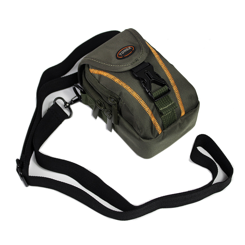 Portable camera bag <font><b>case</b></font> for Panasonic <font><b>LUMIX</b></font> DMC-LX15 LX10 <font><b>LX7</b></font> LX5 FT7 TX2 TZ200 TZ110 ZS80 ZS70 TZ95 TZ90 TZ85 TZ80 waist bag image