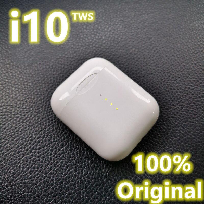 I10 tws usb tipo c original bluetooth fones de ouvido sem fio 5.0 para todo o telefone móvel android