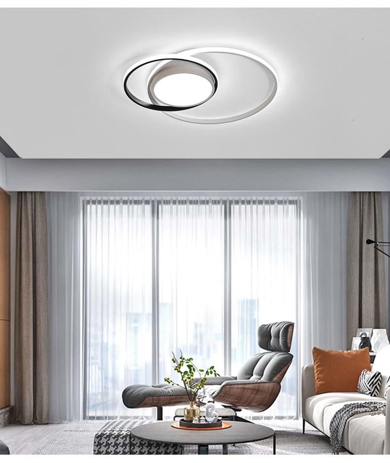 Hd92652e18f8d4d7da3c9f7b691affbd36 New design LED Ceiling Light For Living room Dining Bedroom luminarias para teto Led Lights For Home lighting fixture modern