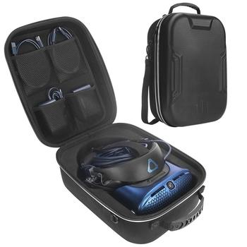 Portable Storage Bag Capacity Case All-around Zippered Carrying Pouch With High-grade Handle For HTC Vive Cosmos