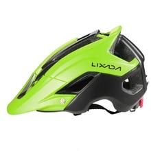 Bicycle Helmet Lixada Mtb Bike Sports-Protective Integrally-Molded Women EPS 13 Vents