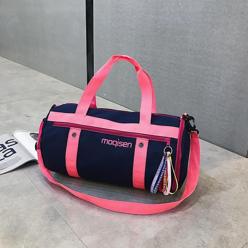 Портативный водонепроницаемый сухой и влажный тренажерный зал сумки для женщин тренировки Фитнес Путешествия сумка йога коврик открытый