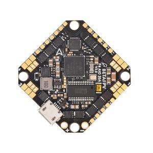 Image 3 - קיסם F4 2 4S AIO Brushless טיסה בקר 20A(BLHeli_S) עם Betaflight MATEKF411 מעבד FC OSD suppor 2 4S סוללה