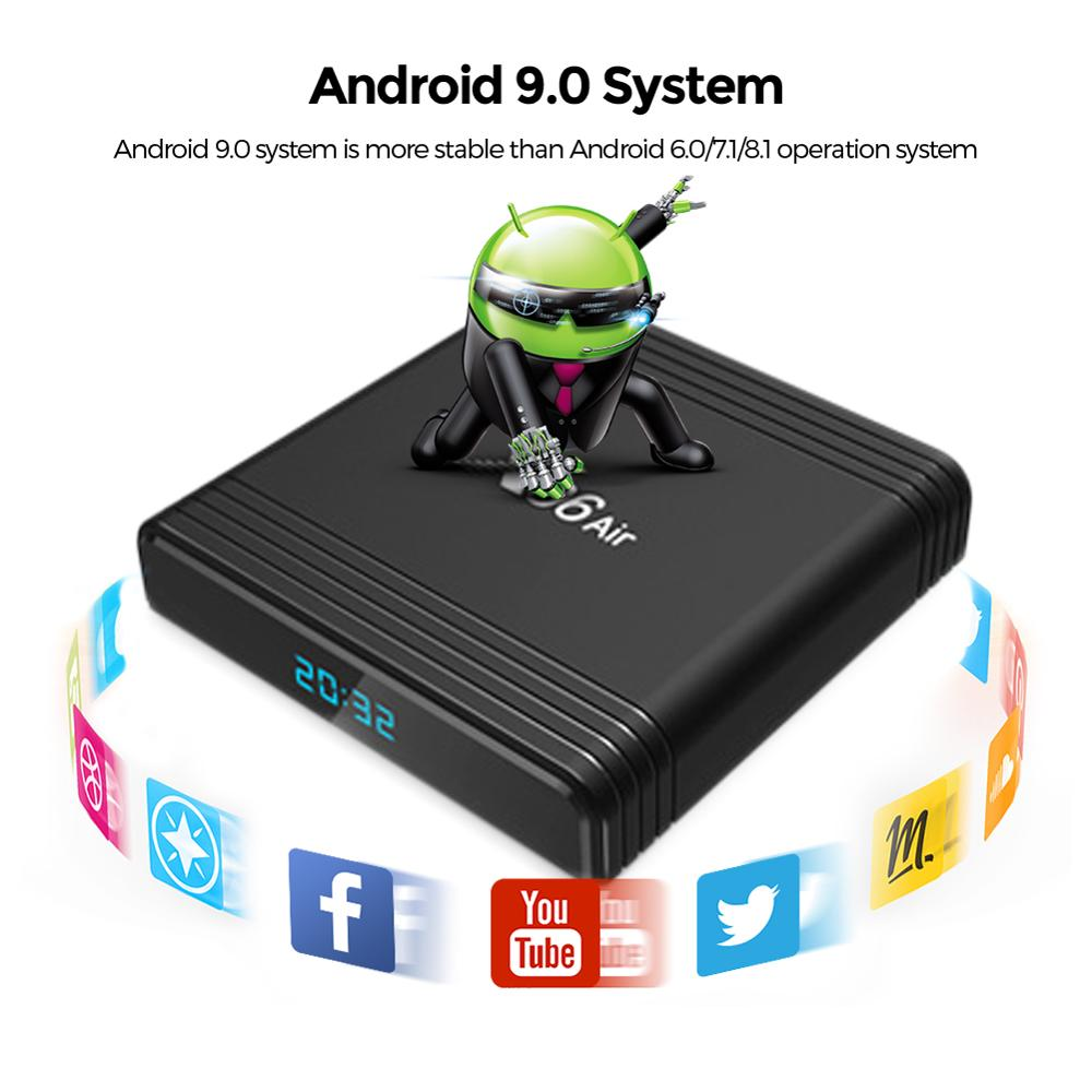 Pre-sale X96 Air Amlogic S905X3 Android 9.0 TV BOX 4GB 64GB 32GB Wifi 1080P 4K 60fps Video Play 2GB 16GB X96Air Media Player