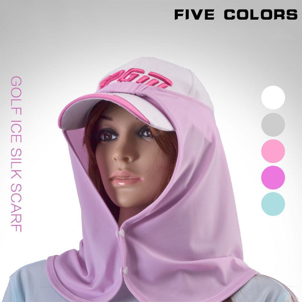 Golf Quick-Drying Breathable Ice Silk Scarf, Sun and UV Protection Scarf for Men and Women
