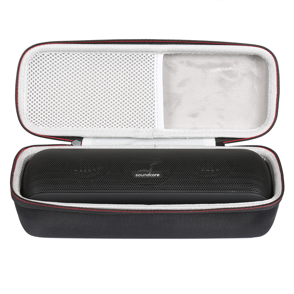 Case for Soundcore 3 IPX7 Waterproof Bluetooth Speaker Hard Travel Carrying Storage Holder Fits USB Cable and Charger Bag Only
