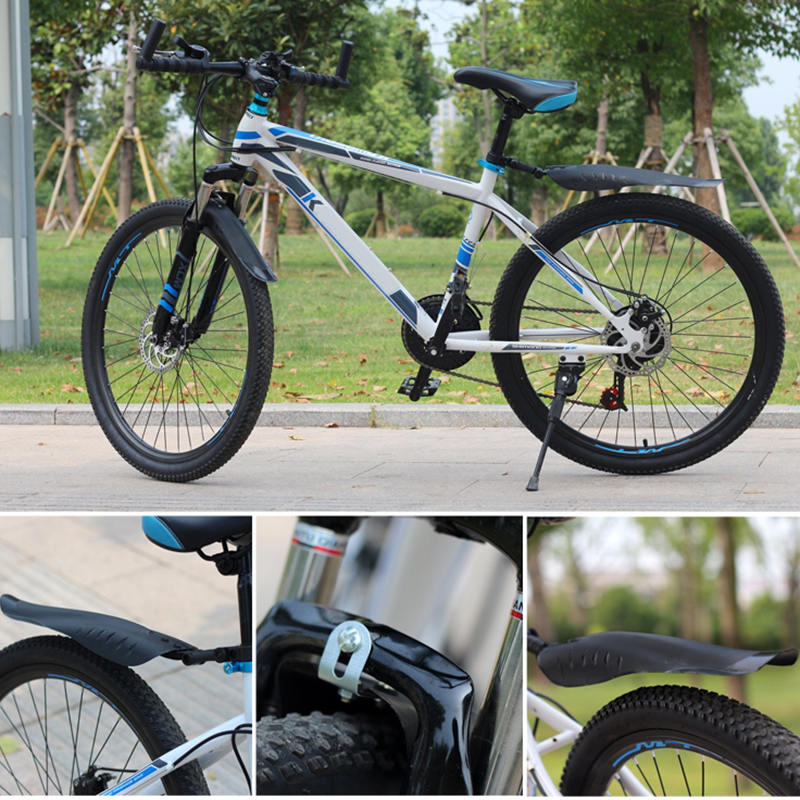 2 Pcs Bicycle Mudguard Mountain Bike Fenders Mudguards Wing Cycling Accessories