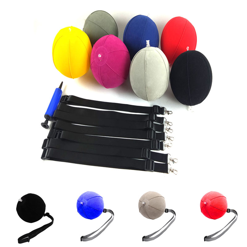 Golf Swing Trainer Ball With Smart Inflatable Assist Posture Correction Training For Golfers Dropshipping Smart Impact Ball