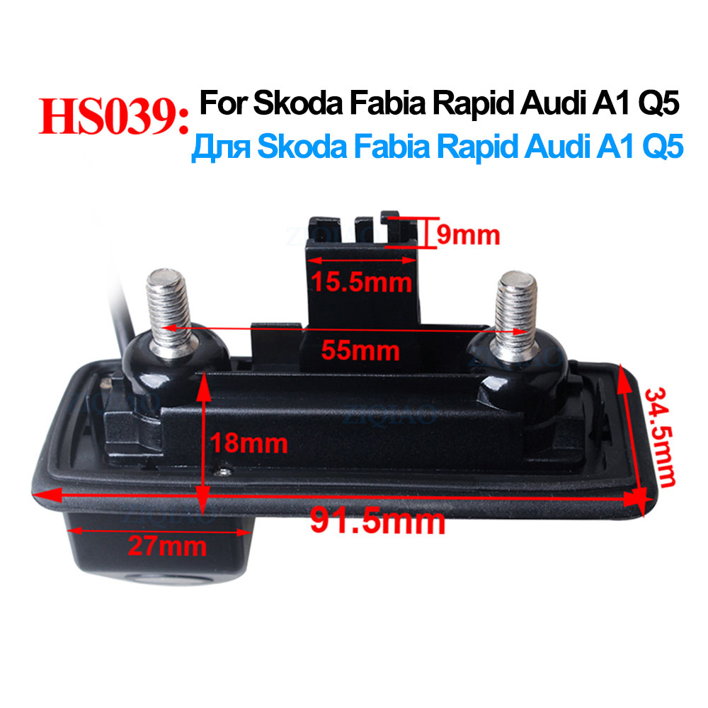 cheapest Car 3rd Brake Light Rear View Camera IP68 Waterproof LED Night Vision Camera For Citroen Jumper Fiat Ducato Peugeot Boxer