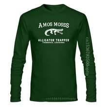 Amos Moses , Alligator Trapper Men'S T-Shirt, Jerry Reed Fan Shirt Retro Tee Shirt