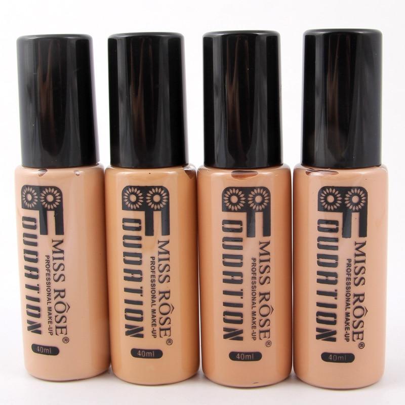 Corrector Nude Natural cara líquido Fundación primer maquillaje de belleza crema hidratante líquido de la cubierta completa corrector Facial Base de la Fundación - 6