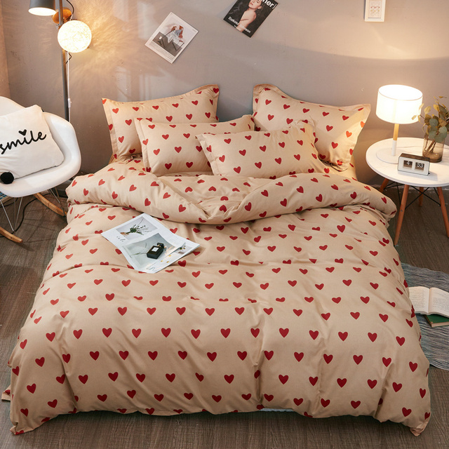 Ensemble de literie noir nordique | Housse de couette 220x240, reine roi, taille unique, feuille détoile, draps de lit, taie doreiller, couette de lit de Couple