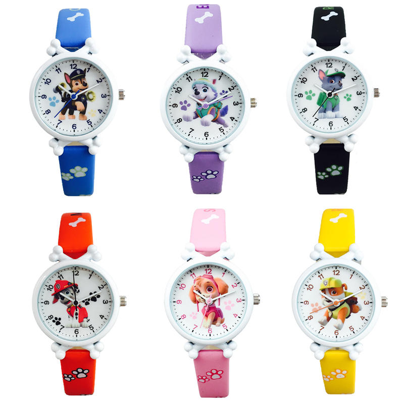 Paw Patrol Dog Children Watch Puppy Patrol Digital Watch Ever Paw Patrol Cartoon Characters Action Figure Kid Dog Patrol Watch