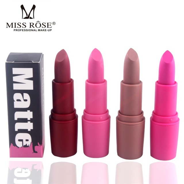 Makeup Lipstick Professional Matte Lipsticks Waterproof Long Lasting Sexy Red Lips Gloss Makeup Matte Lipsticks Beauty Cosmetics 2