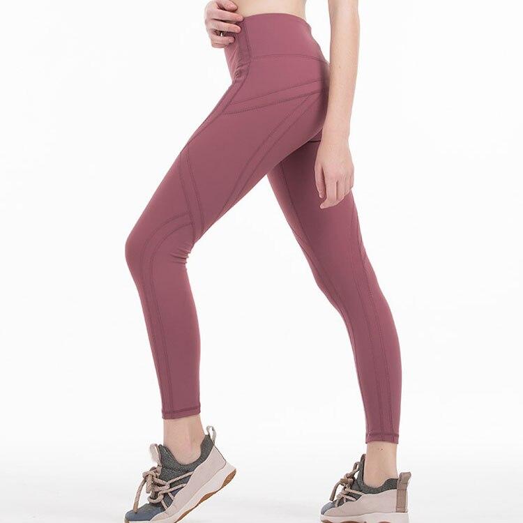 2020 Women Sports Tight Sexy Gym mesh Legggings Quality 4 Way Stretch Fabric 6