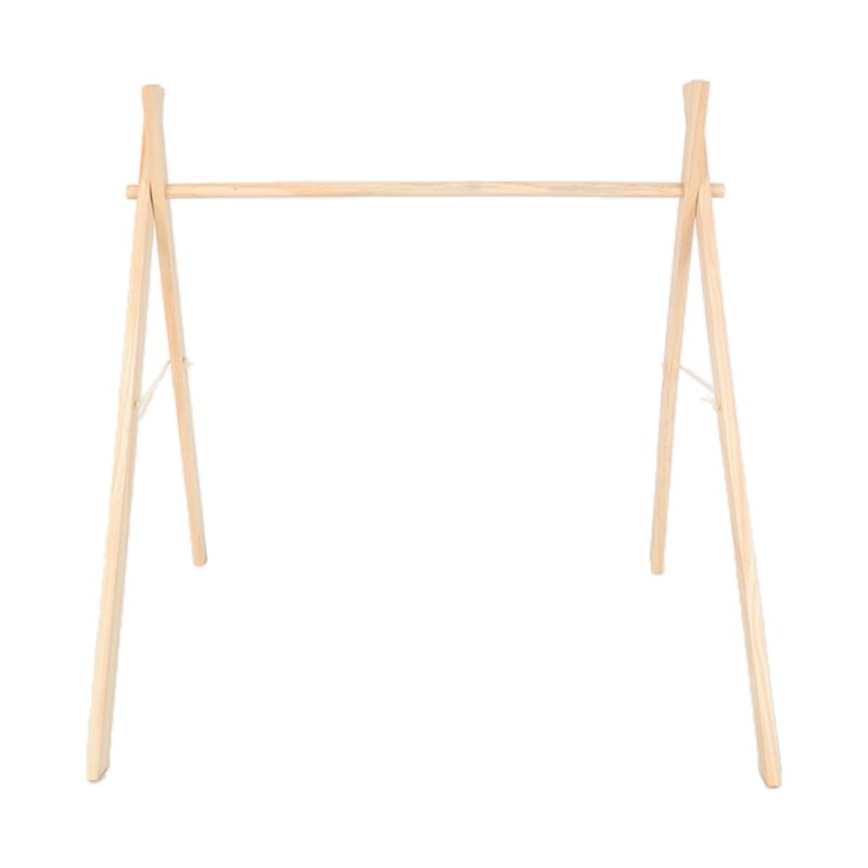 Nordic Simple Wooden Fitness Rack Children Room Decorations Baby Play Gym Bar