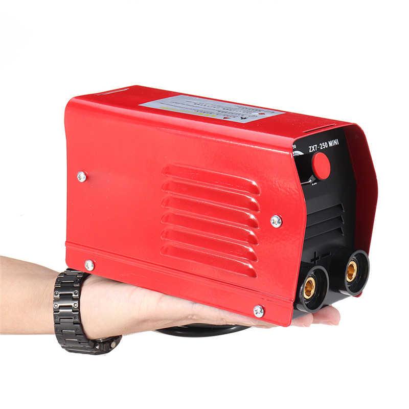 ZX7-250 Mini portátil 250A Mini máquina de soldadura eléctrica IGBT DC inversor ARC MMA Stick-soldador 220V 50- 60Hz