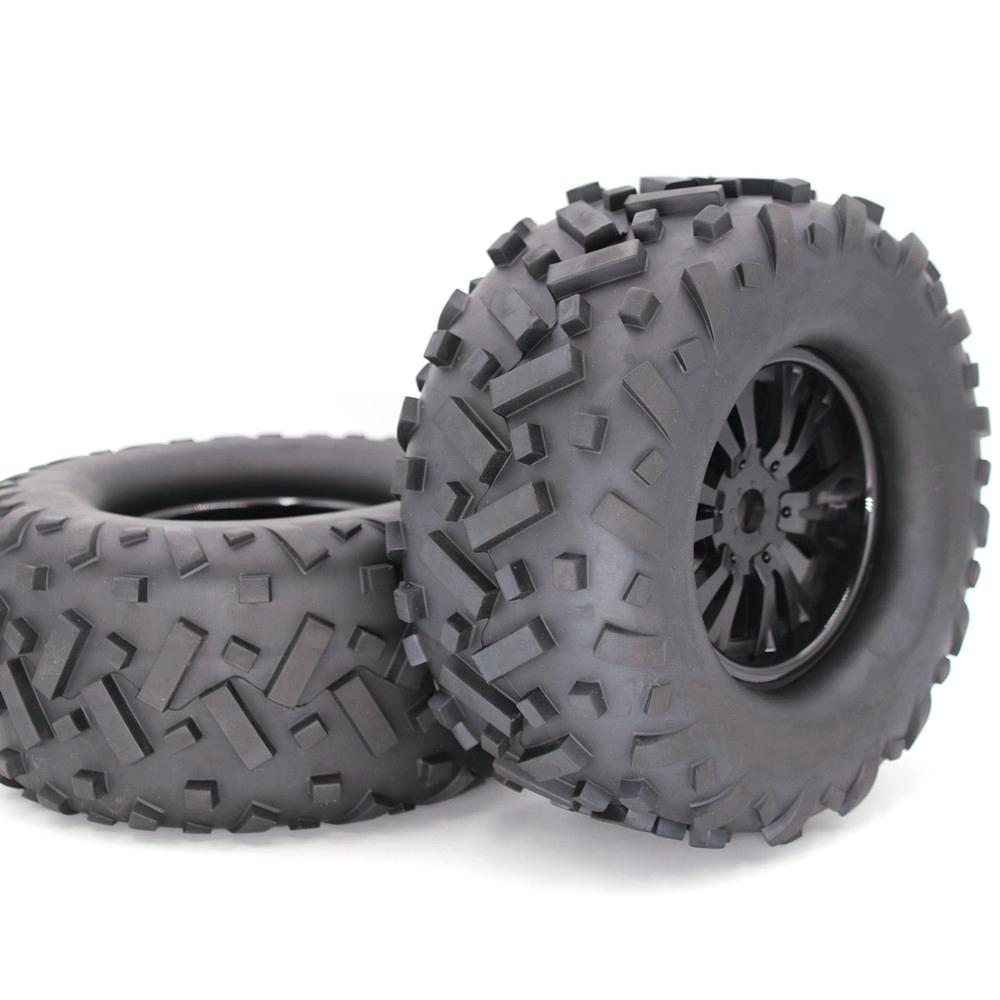 None 1/8 Tire Universal RC Car <font><b>Wheel</b></font> and Tire Off-road Car Tire Car Parts 170MM image