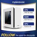 Athlon AMD A8 7680 8G RAM 120G SSD Home Office Computer Montage Computer Komplette DIY Desktop-Computer host DIY Günstige Gaming PC