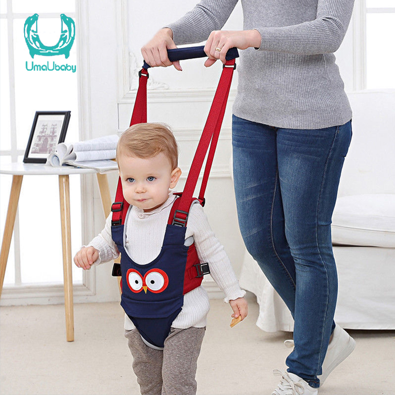 Umaubaby 2020 New Baby Walker Seat Belt Child Traction Belt Child Assistant Learning Safety Re Rope Toddler Portable