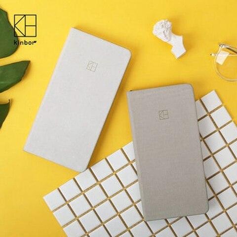 bolso de cor pura planejador semanal notebook