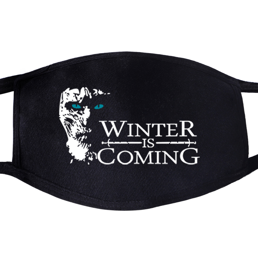 Protective Masks Game Of Thrones Not Today Arya Stark Winter Is Comming Daenerys Targaryen Wolf Dragon Mask