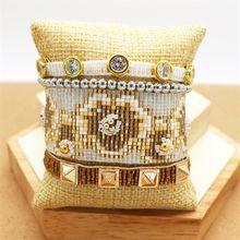 Браслет zhongvi для женщин модные ювелирные изделия Миюки женские