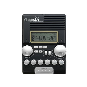Cherub WRW-106 Rhythm Trainer Drum Metronome Professional Multi Function Digital Electronic Drum Drummer Metronome Percussion vintage tower type guitar metronome bell ring rhythm mechanical pendulum metronome for guitar bass piano violin accessories