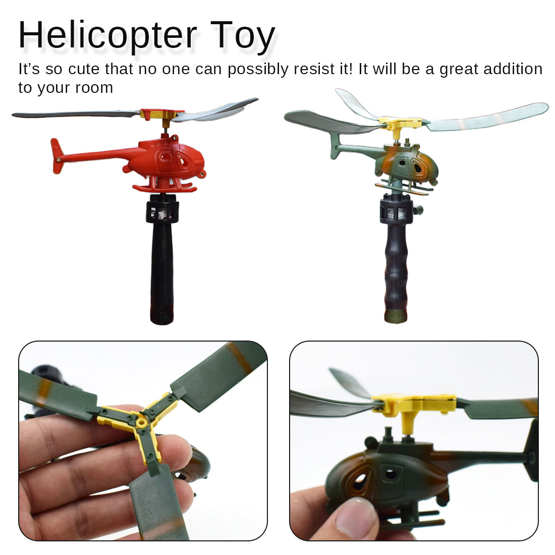 Kids Manual Pull The Plane Aviation Funny Toy Helicopter For Children Baby Play Gift Model Aircraft Helicopter
