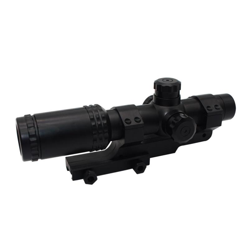 Brand New E High Quality Tactical 8 Times Mirror Magnifier Scope With Red Dot Aim Universal Ball Toy For Gel Blaster Toy