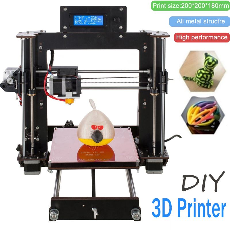 Bricolage I3 3D imprimante Kit haute précision prise en charge de l'impression hors ligne
