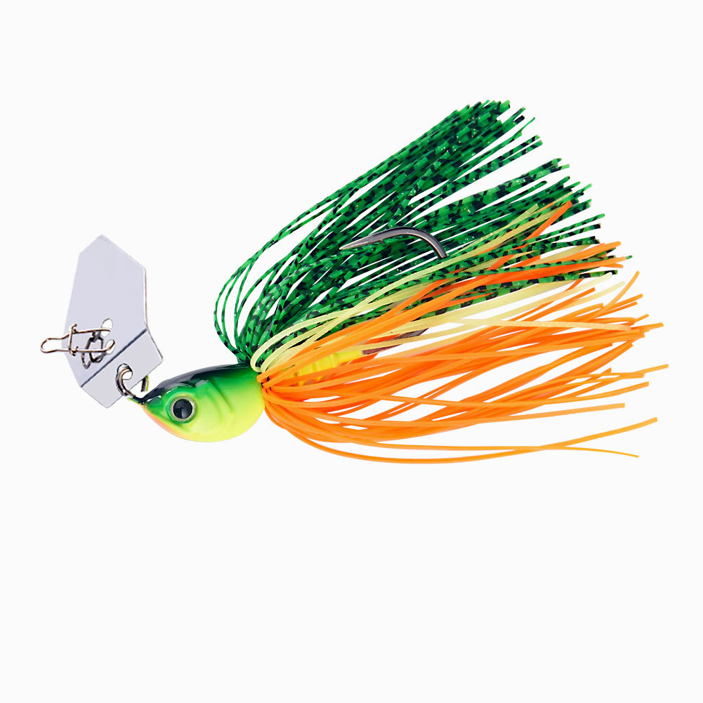 Original Micro Chatterbait 14g Chatter Bait Fishing Lure  Pike Bass Fishing Lure Buzz Bait Buzzbait-1
