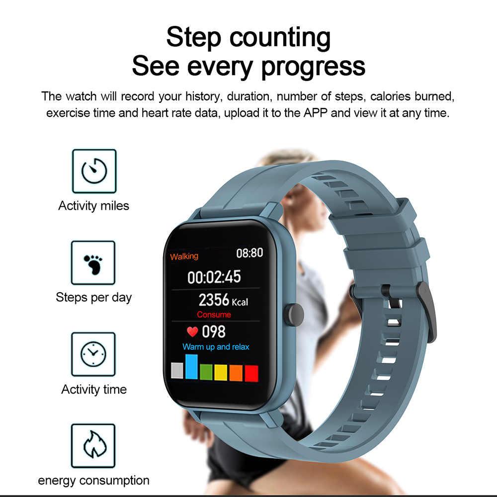 LEMFO F22 2.5D Display HD Astuto Della Vigilanza Degli Uomini Orologio FAI DA TE Viso Tempo di Sport Donne Smartwatch Per Android IOS GTS 14Day standby