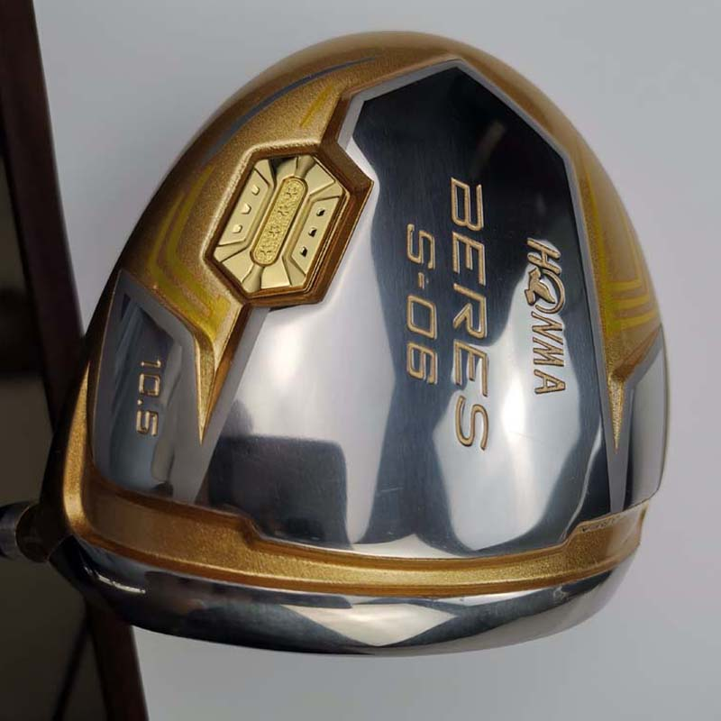 Honma 4 Star S-06 Men Drivers 9.5 And 10.5 Graphite Dedicated Shaft Golf Driver Golf Clubs Free Shipping