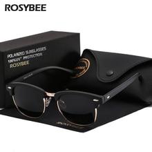 ROSYBEE UV400 Polarized Sunglasses men women Classic cool retro Sun glasses Coat