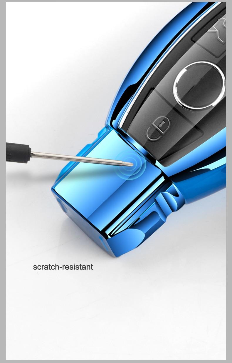Купить высококачественный чехол для ключей автомобиля из тпу mercedes
